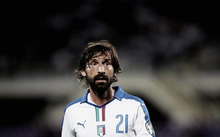 Pirlo admite saudade de jogar pela Itália e elege Verratti como 'futuro da Azzurra'