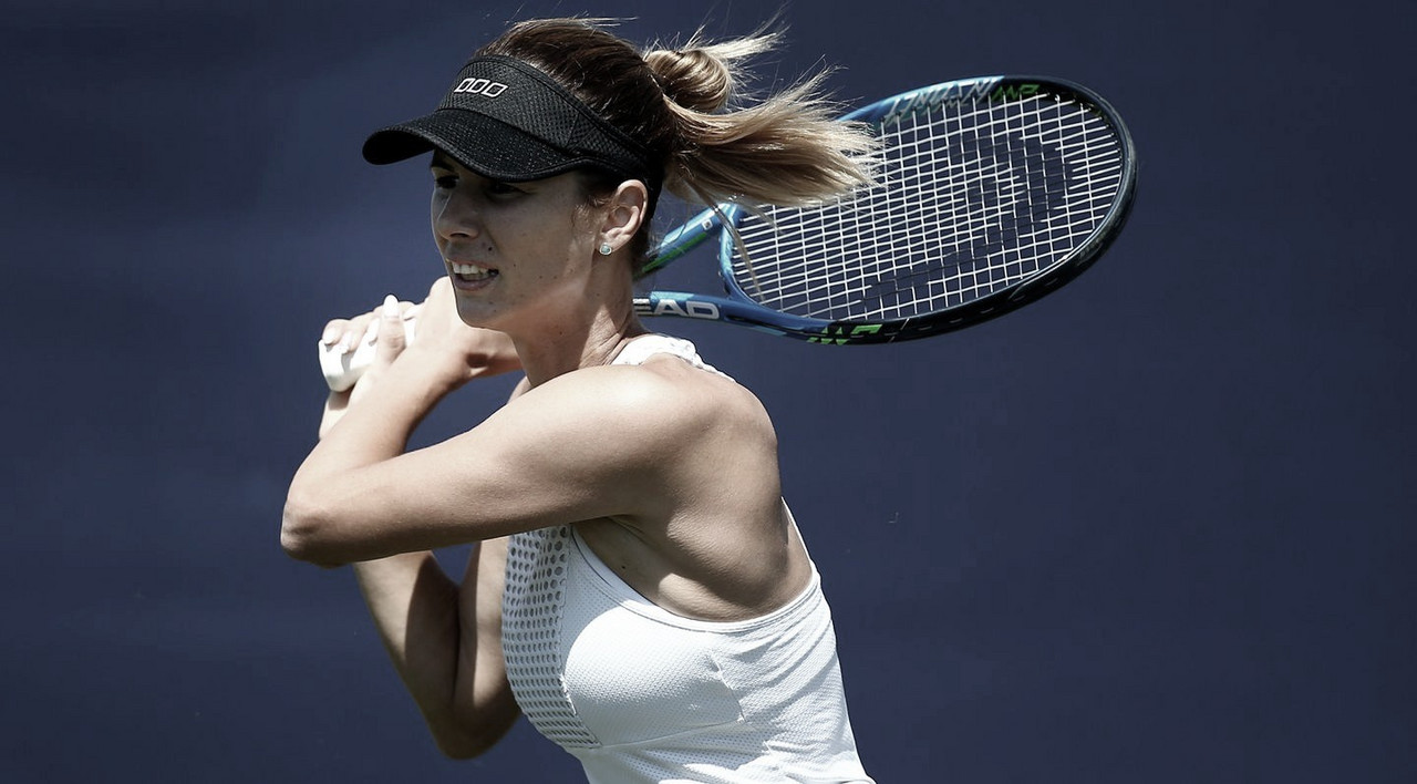 No seu primeiro torneio em mais de três anos, Pironkova surpreende e elimina Muguruza