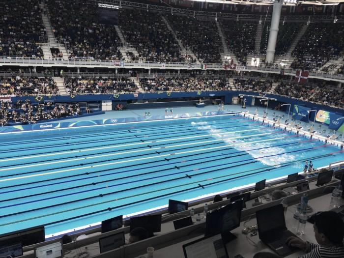 Natação: dia 2na Rio 2016