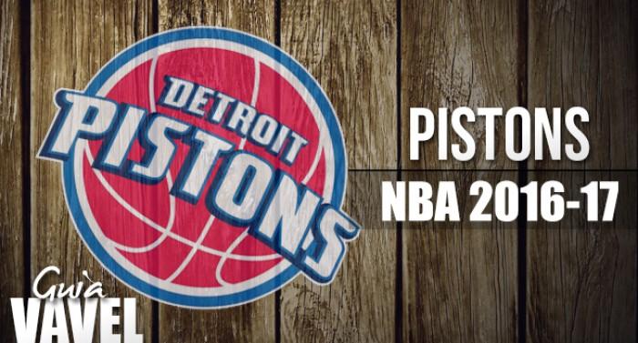 Guía VAVEL NBA 2016/17: Detroit Pistons