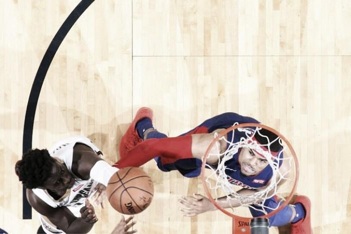 Pelicans oprimió a los Pistons