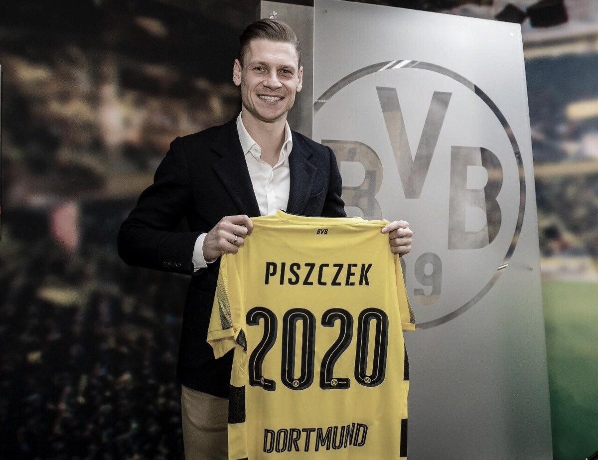 Há oito anos no Borussia Dortmund, Lukasz Piszczek renova até 2020