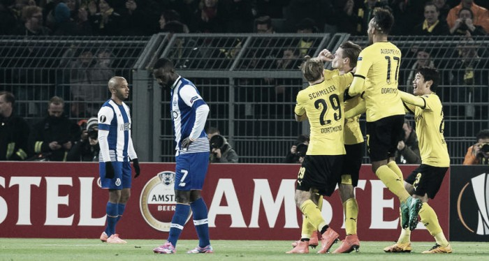 Borussia Dortmund 2-0 FC Porto: Die Schwarzgelbe put out the Dragons' fire