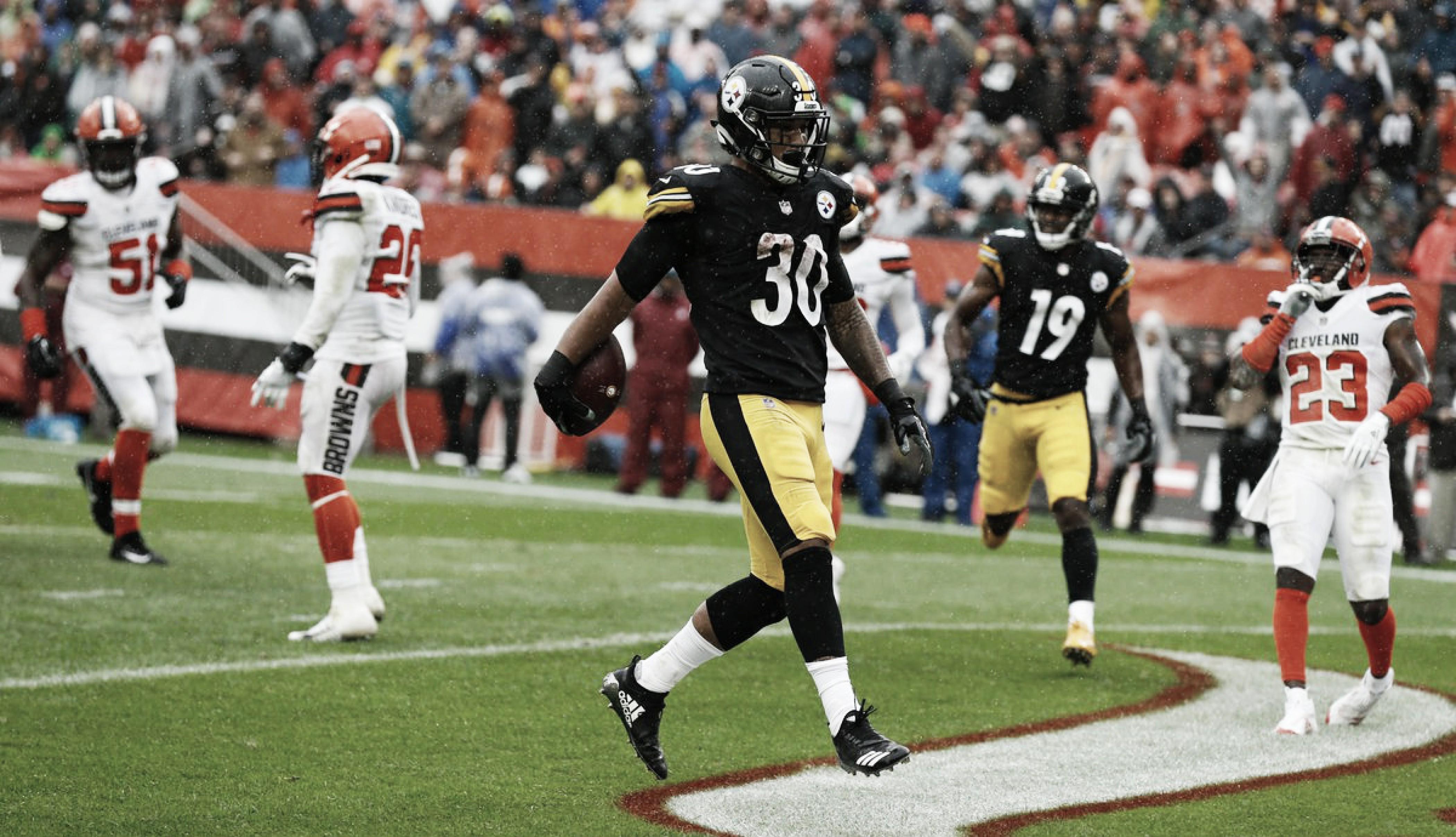 Steelers y Browns empatan en la semana inaugural