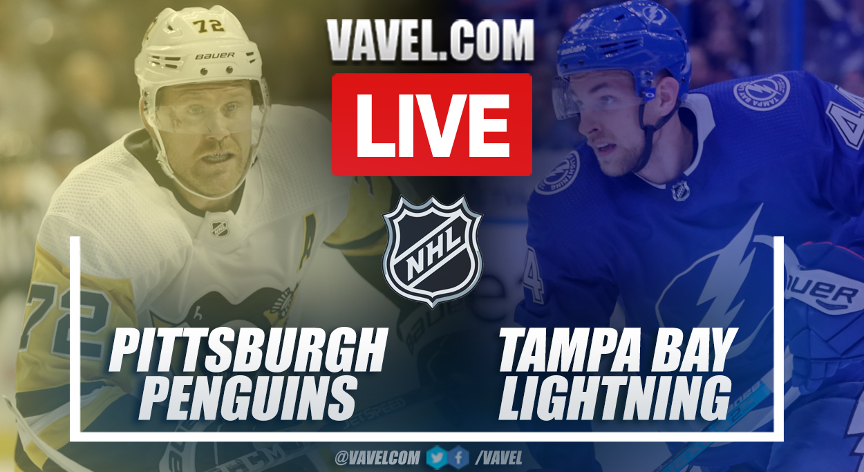 Highlights and goals: Pittsburgh Penguins 6-2 Tampa Bay Lightning in 2021-22 NHL