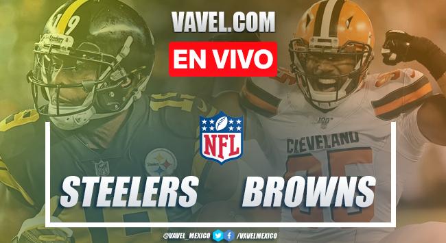 Pittsburgh Steelers vs Cleveland Browns en vivo cómo ver transmisión TV online en NFL 2019 (0-0)