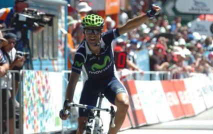Valverde vence en Peyragudes y Wiggins sigue líder