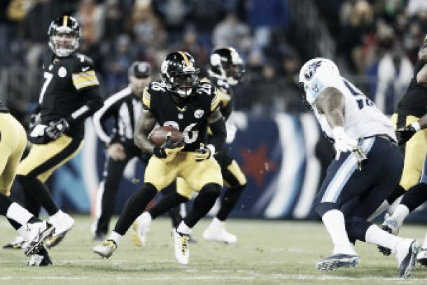 Le Veon Bell llevó a Steelers al triunfo