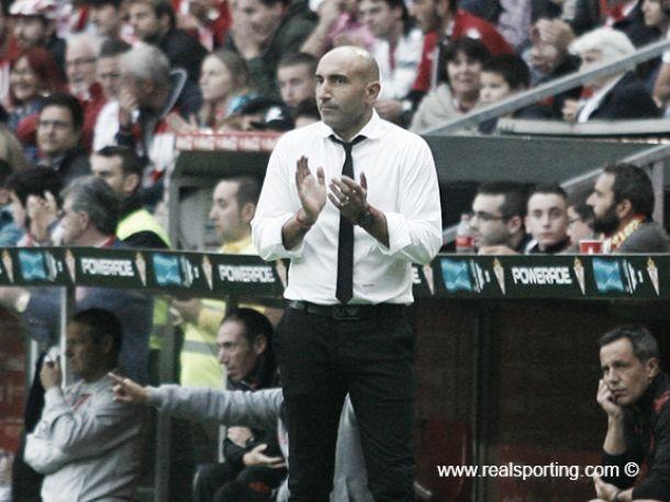 """Abelardo: """"El equipo genera buenas sensaciones pero hay que mejorar los resultados"""""""