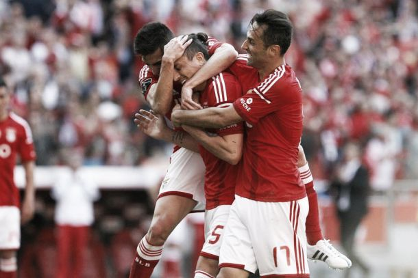 Benfica dominou e goleou Académica com tranquilidade