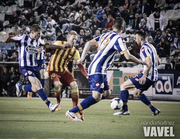 Em Camp Nou: Salomão empata «culés» e salva Deportivo da despromoção