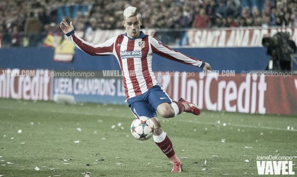 Antoine Griezmann, o homem do momento no Calderón