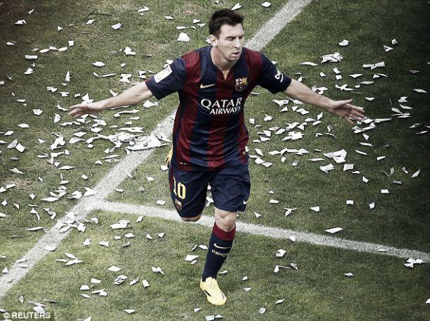 Messi alcança Cristiano Ronaldo no topo dos goleadores da La Liga