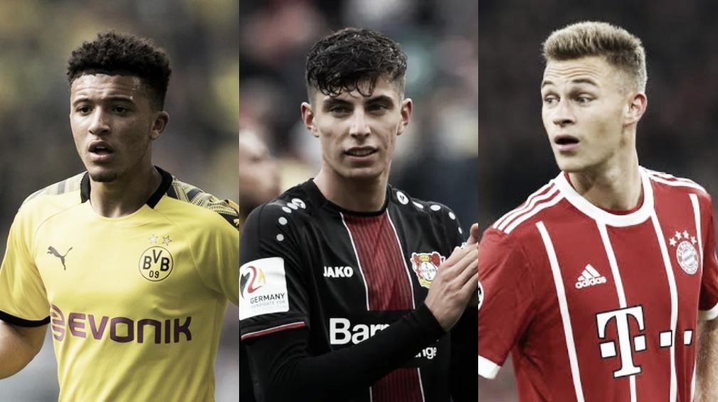 Sancho, Havertz e Kimmich: top 10 jogadores mais valiosos da Bundesliga