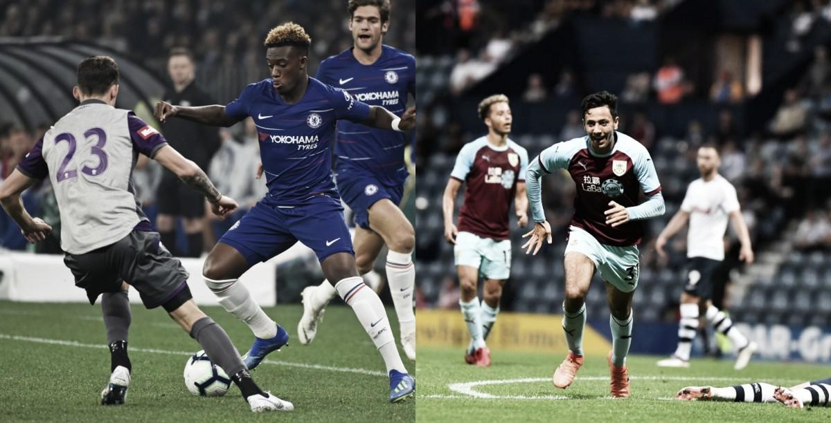 Chelsea y Burnley triunfan en pretemporada