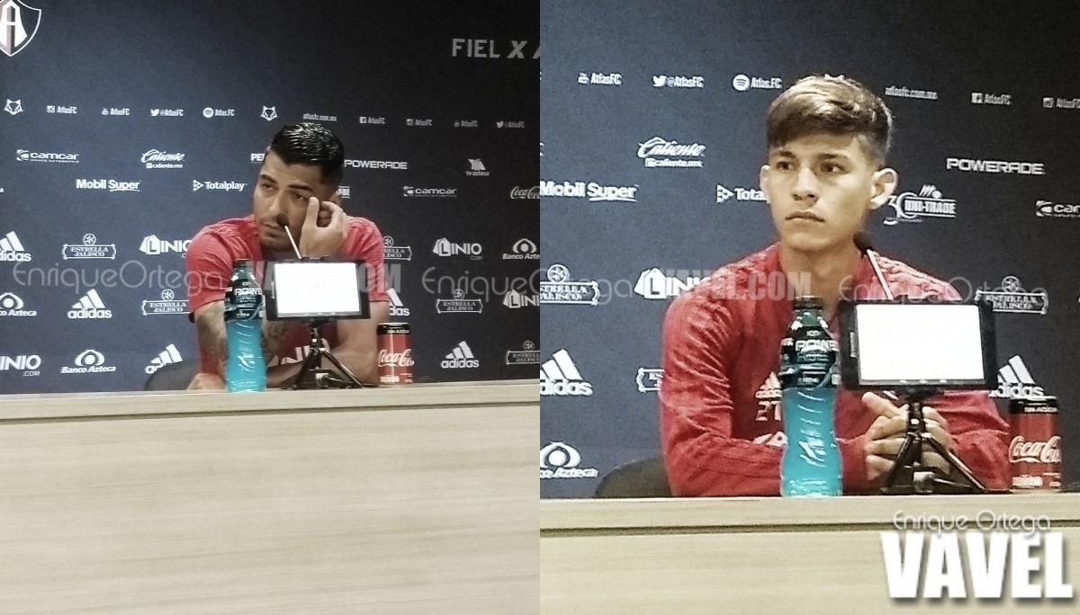 """Jefferson Duque y Edyairth Ortega: """"La copa nos motiva para ganarnos un lugar"""""""
