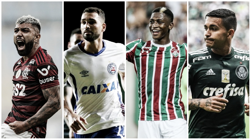 Trio flamenguista, Gilberto, Yony e Dudu: top 10 participantes de gols em 2019