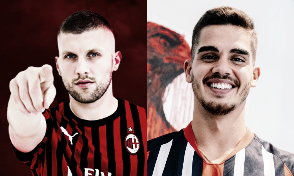 Troca por empréstimo é concretizada: Rebic no Milan e André Silva no Frankfurt