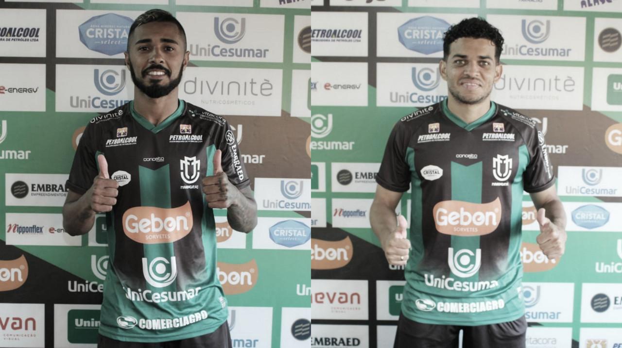 Maringá contrata volante Jeferson Parrudo e lateral Denis Neves