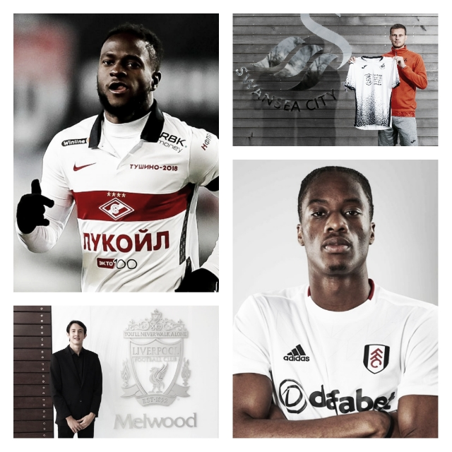 FOTO: Twitter @Fulham, @Swansea, @SpartakMoscow y @Liverpool