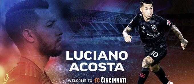 Luciano Acosta regresa a MLS
