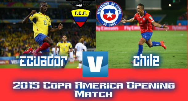 Chile To Square Off With Ecuador To Begin 2015 Copa America