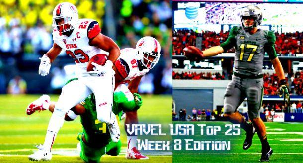 VAVEL USA NCAA Football Week 8 Top 25 Rankings