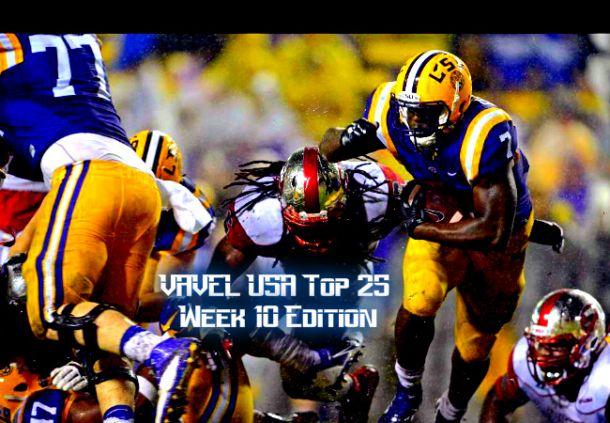 VAVEL USA NCAA Football Week 10 Top 25 Rankings