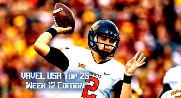 VAVEL USA NCAA Football Week 12 Top 25 Rankings