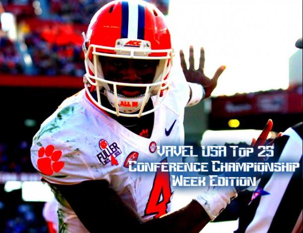 VAVEL USA NCAA Football Conference Championship Week Top 25 Rankings