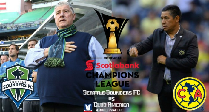Score Seattle Sounders-Club America In Scotiabank CONCACAF Champions League Quarterfinal (2-2)