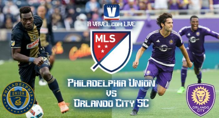 Score Philadelphia Union-Orlando City SC In 2016 MLS (2-1)