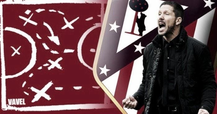 La pizarra de Simeone: el Atlético funcionó en sus dos formas