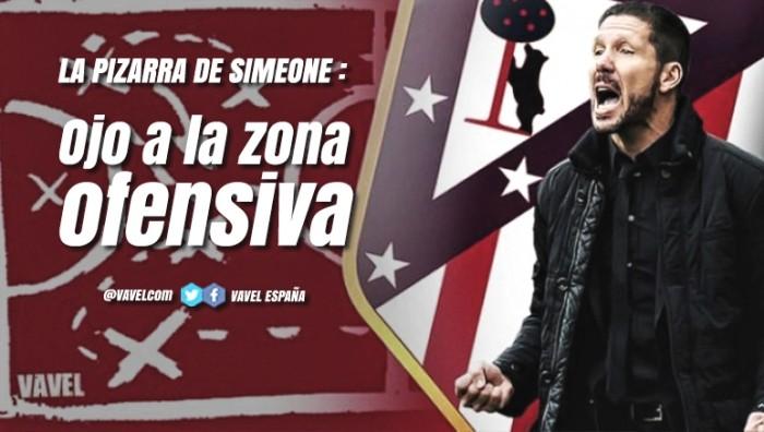 Guía VAVEL Atlético de Madrid 2017/18: la pizarra de Simeone debe mirar a la zona ofensiva