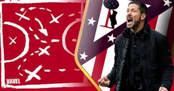 La pizarra de Simeone: el Atleti se divierte con el 4-3-3