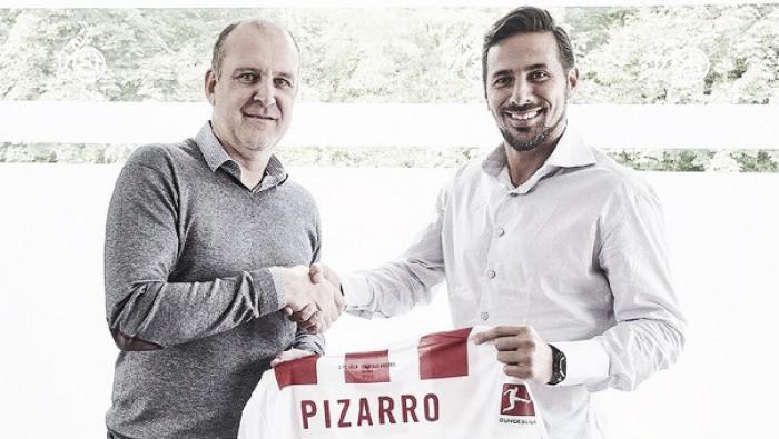Claudio Pizarro es el nuevo jugador del FC Köln