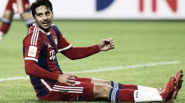 Claudio Pizarro no renovará con el Bayern Múnich