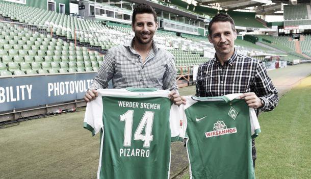 """Claudio Pizarro en Werder Bremen: """"Espero que podamos ganar cosas importantes"""""""