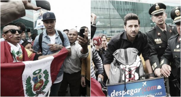 Paolo Guerrero y Claudio Pizarro se incorporaron a la Selección Peruana