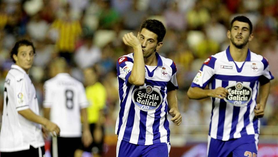 Valencia 3 - Dépor 3: Una remontada casi imposible