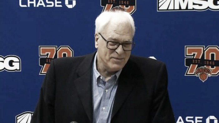NBA, Phil Jackson liquida Carmelo Anthony