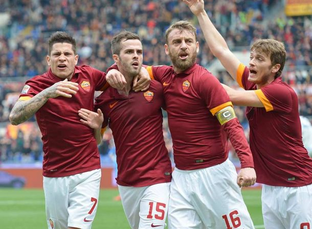 Roma 1-0 Napoli: The Giallorossi take all 3 points in nervous finish.
