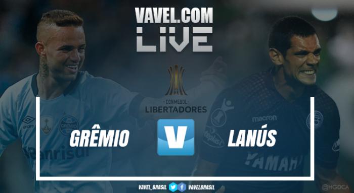 Resumen Lanús 1-2 Gremio en la Copa Libertadores 2017