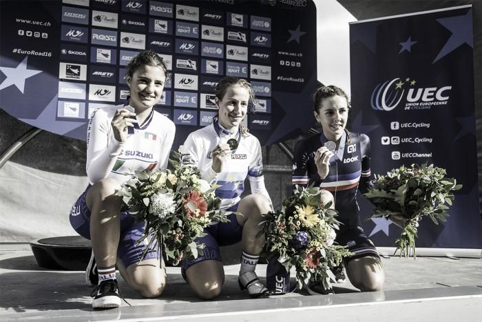 Plumelec 2016, oro e argento e Morzenti e Vigilia nella crono juniores. Ganna secondo tra gli U23