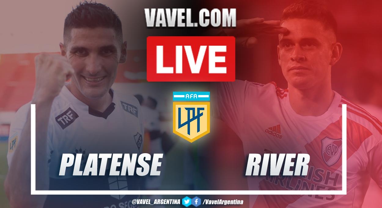Resumen Platense vs River (0-1) por la fecha 3 por Copa de la Liga Profesional 2021