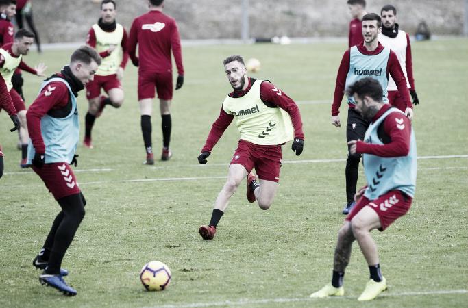 Planning semanal de Osasuna: cinco entrenamientos para enfrantarse al líder