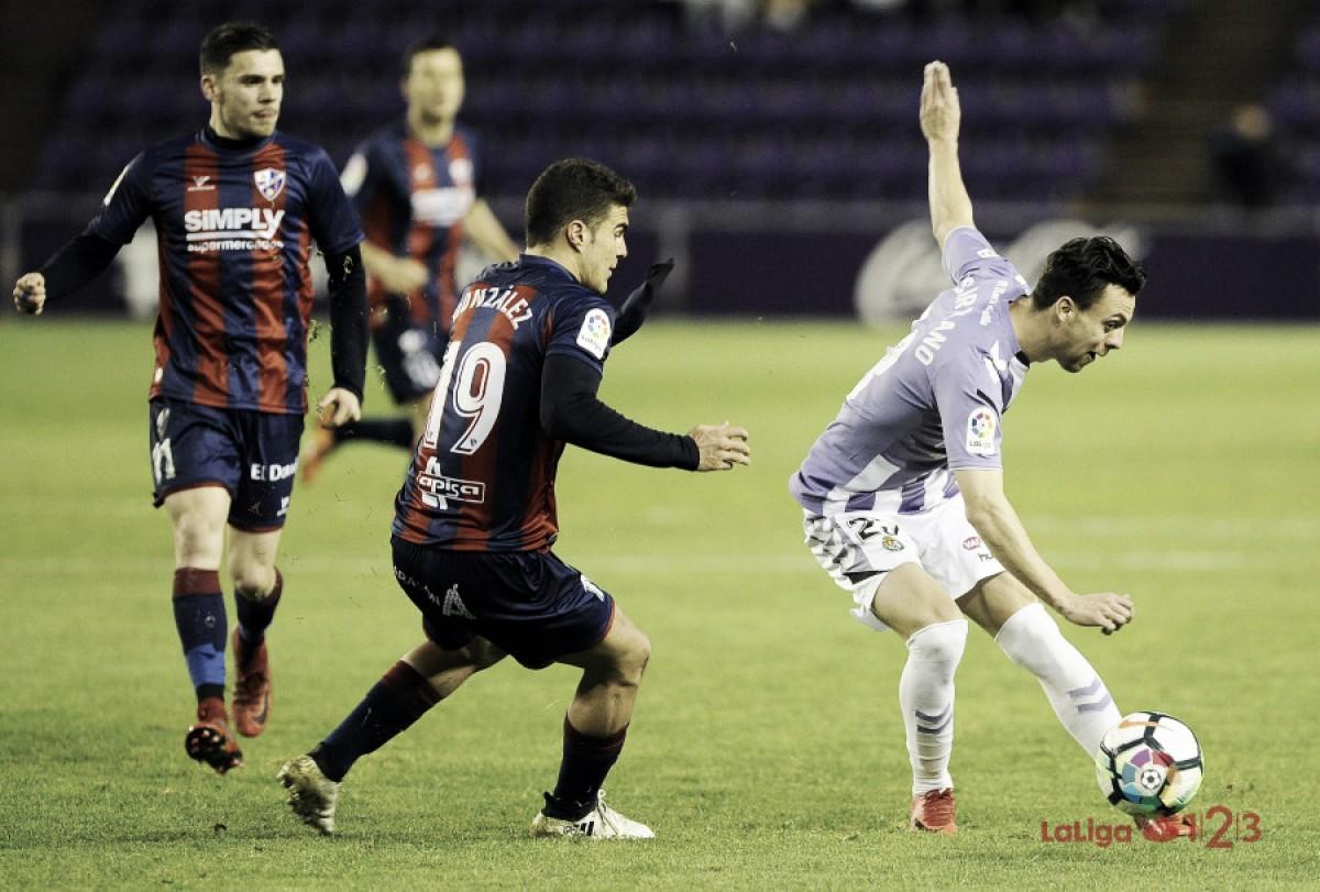 Real Valladolid - SD Huesca: puntuaciones del Valladolid en la jornada 27 en LaLiga 1|2|3