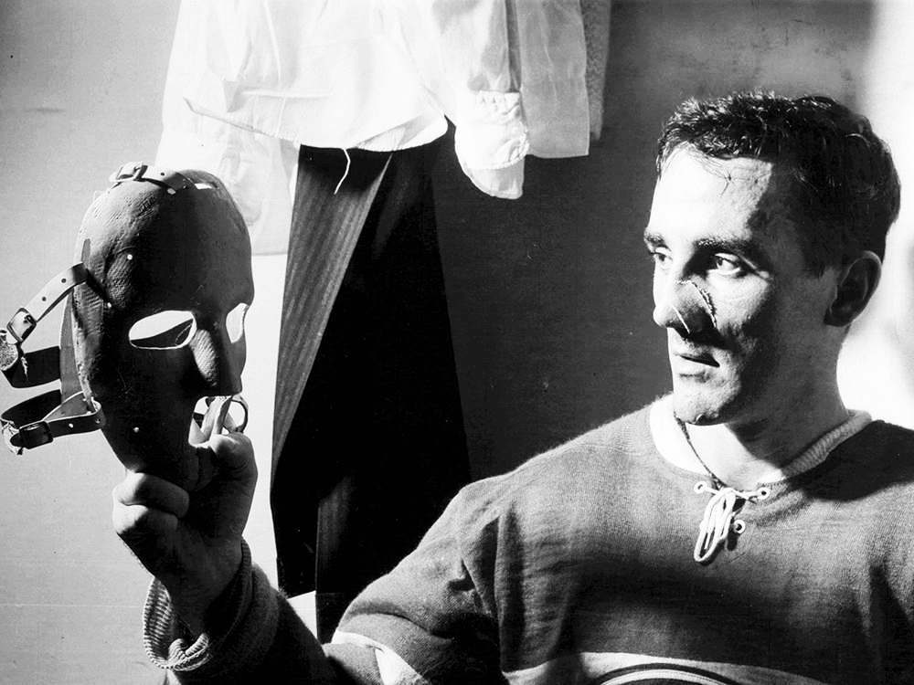 Legendary goaltender Jacques Plante was featured on a Google doodle on Feb. 12 for popularizing the protective face mask. (Photo: Montreal Gazette archives)