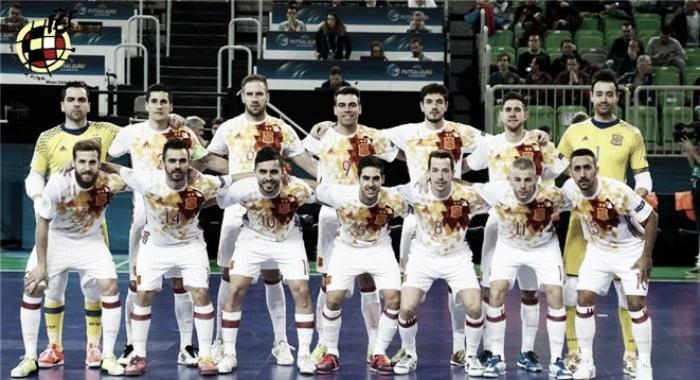 El 1x1 de España en la UEFA Futsal Euro 2018