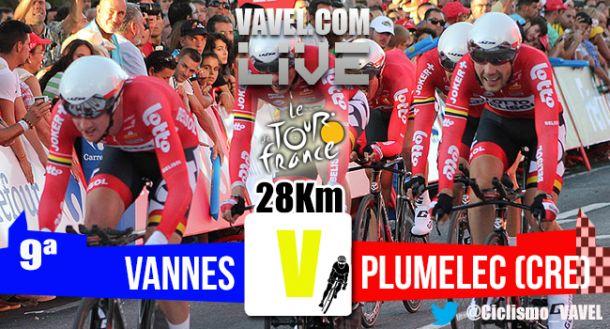 Resultado de la Etapa 9 del Tour de Francia 2015: Vannes - Plumelec